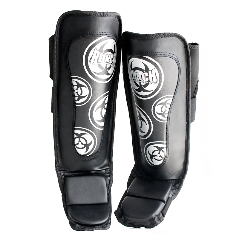 Vegan Fitness Gloves: MMA Shin Pads - Fitness & Training Pads